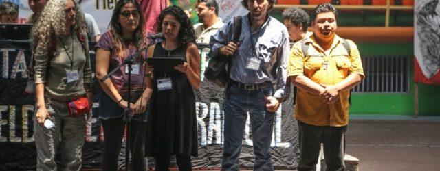 Al Consejo Cívico de Organizaciones Populares e Indígenas de Honduras (COPINH) A la familia de Bertha Cáceres y de Nelson García A las organizaciones y movimientos de Honduras Las organizaciones, […]