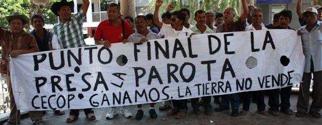 CECOP -V- LOS TRIUNFOS LEGALES – 13° Aniversario –  EL PROYECTO HIDROELÉCTRICO LA PAROTA ESTÁ SUSPENDIDO Desde 2006 el gobierno mexicano y la Comisión Federal de Electricidad (CFE) […]