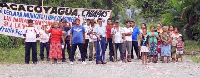 PRONUNCIAMIENTO NOS SOLIDARIZAMOS CON EL FRENTE POPULAR EN DEFENSA DEL SOCONUSCO 20 DE JUNIO (FPDS) Y NOS UNIMOS A LA EXIGENCIA DE LIBERAR ACACOYAGUA, CHIAPAS, DE LA EXPLOTACIÓN MINERA México, […]